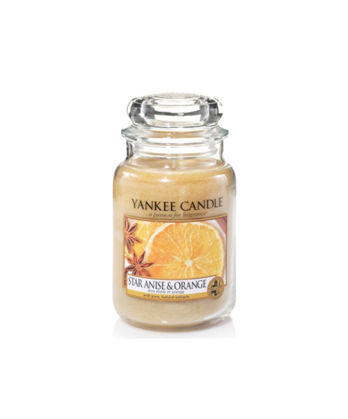 Yankee Candle ароматна свещ STAR ANISE & ORANGE